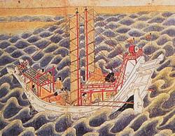 遣唐使が唐帝の献上品として海石榴油(つばきゆ)6斗」を持参